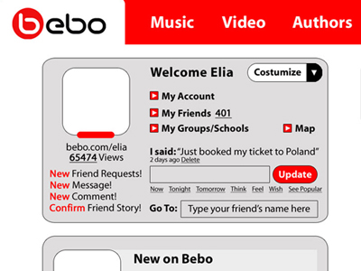 Bebo UX Studies