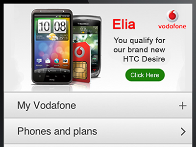 Vodafone UK Portal